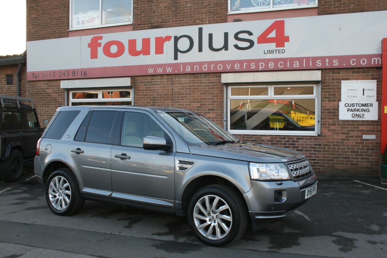 Land Rover Freelander 2.2 SD4 HSE 5dr Auto Estate Diesel Grey at Four Plus 4 Leeds