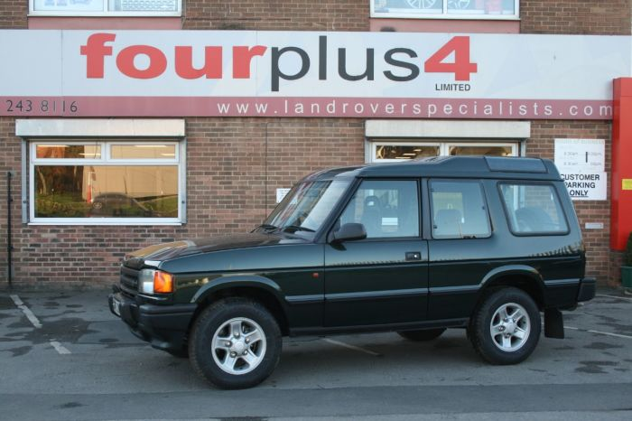 Land Rover Discovery 2.5 300 TDI Four Wheel Drive Diesel Metallic Green
