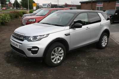 Land Rover Discovery Sport 2.2 SD4 SE Tech 5dr Estate Diesel SilverLand Rover Discovery Sport 2.2 SD4 SE Tech 5dr Estate Diesel Silver at Four Plus 4 Leeds